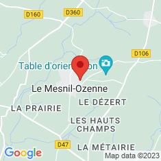 Carte / Plan Le Mesnil-Ozenne
