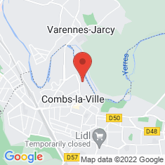 Carte / Plan Combs-la-Ville