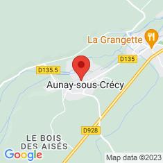 Carte / Plan Aunay-sous-Crécy