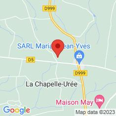 Carte / Plan La Chapelle-Urée