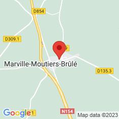 Carte / Plan Marville-Moutiers-Brûlé