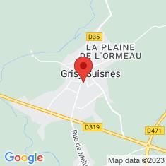 Carte / Plan Grisy-Suisnes