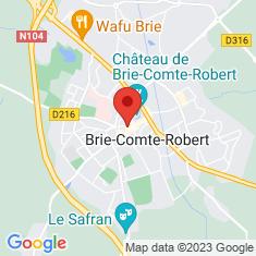 Carte / Plan Hôtel-Dieu de Brie-Comte-Robert
