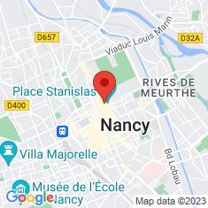 Carte / Plan Musée des beaux-arts de Nancy