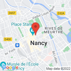 Carte / Plan Nancy