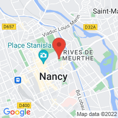 Carte / Plan Muséum-aquarium de Nancy
