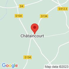 Carte / Plan Châtaincourt