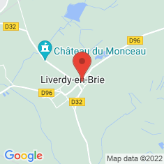 Carte / Plan Liverdy-en-Brie