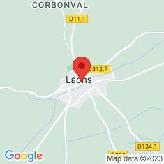 Carte / Plan Laons