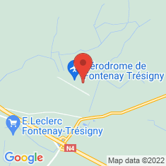 Carte / Plan Manoir de Chaubuisson