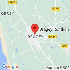 Carte / Plan Dragey-Ronthon