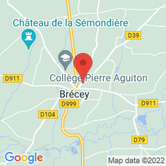 Carte / Plan Brécey