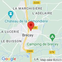 Carte / Plan Brécey
