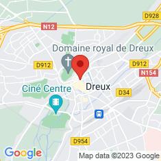 Carte / Plan Dreux