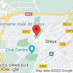 Carte / Plan Château de Dreux