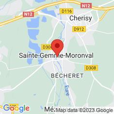 Carte / Plan Sainte-Gemme-Moronval