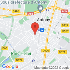 Carte / Plan Église Saint-Saturnin d'Antony