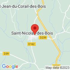 Carte / Plan Saint-Nicolas-des-Bois (Manche)