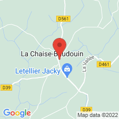 Carte / Plan La Chaise-Baudouin