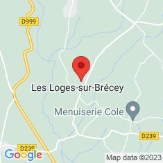 Carte / Plan Les Loges-sur-Brécey