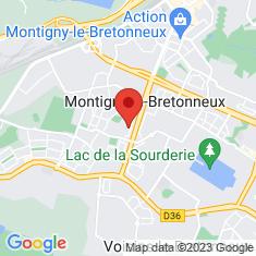 Carte / Plan Montigny-le-Bretonneux