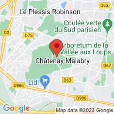 Carte / Plan Arboretum de la Vallée-aux-Loups
