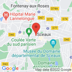 Carte / Plan Fontenay-aux-Roses