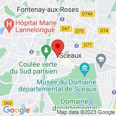 Carte / Plan Sceaux (Hauts-de-Seine)