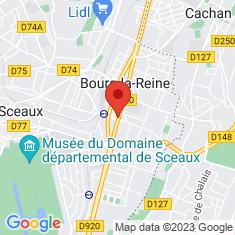 Carte / Plan Bourg-la-Reine