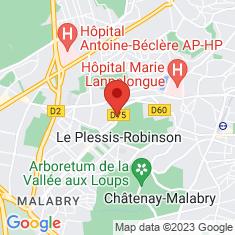 Carte / Plan Le Plessis-Robinson