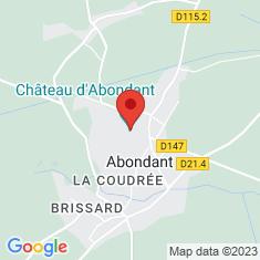 Carte / Plan Château d'Abondant