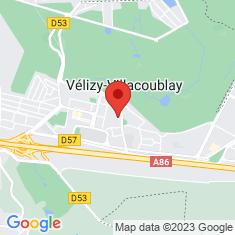 Carte / Plan Vélizy-Villacoublay