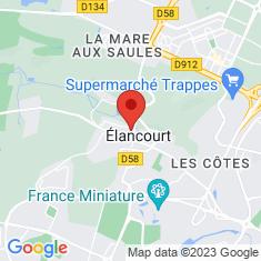 Carte / Plan Élancourt