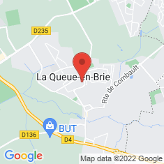 Carte / Plan La Queue-en-Brie