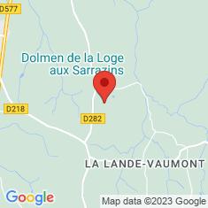 Carte / Plan Dolmen de la Loge aux Sarrazins