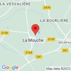 Carte / Plan La Mouche (Manche)