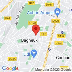 Carte / Plan Bagneux (Hauts-de-Seine)