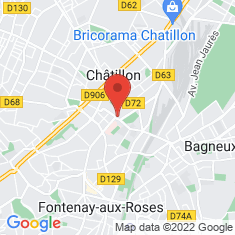 Carte / Plan Châtillon (Hauts-de-Seine)