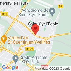 Carte / Plan Lycée militaire de Saint-Cyr