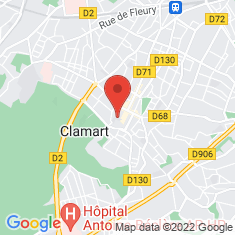 Carte / Plan Clamart