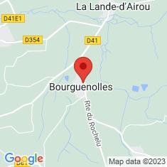 Carte / Plan Bourguenolles