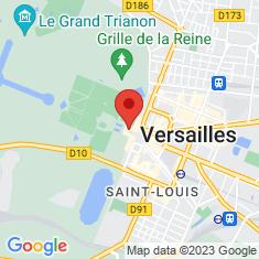 Carte / Plan Petit Appartement du roi