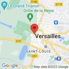 Carte / Plan Chapelle du château de Versailles