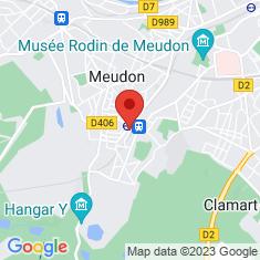Carte / Plan Meudon