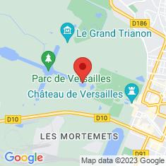 Carte / Plan Jardin de Versailles