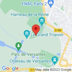 Carte / Plan Château du Petit Trianon
