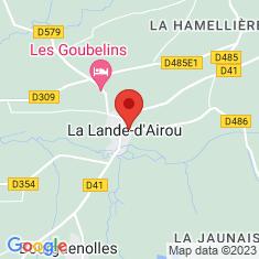 Carte / Plan La Lande-d'Airou