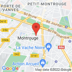Carte / Plan Montrouge