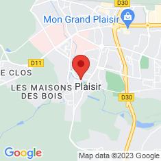 Carte / Plan Plaisir (Yvelines)