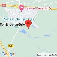 Carte / Plan Château de Ferrières (Ferrières-en-Brie)